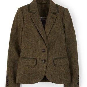 Boden British Tweed Blazer